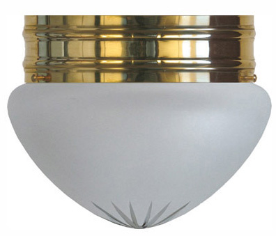 Bowl Lamp - Heidenstam 200 cut frosted glass