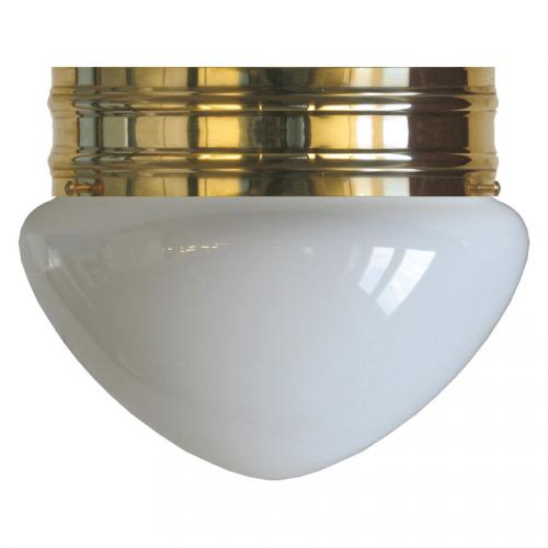 Bowl Lamp - Heidenstam 200 opal white glass
