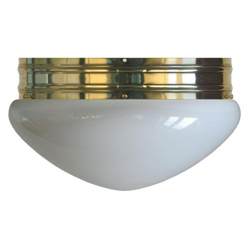 Bowl Lamp - Heidenstam 300 opal white glass