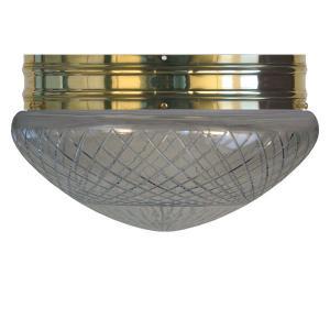 Bowl Lamp - Heidenstam 300 clear glass