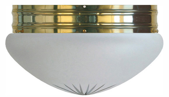 Taklampa - Heidenstamplafond 300 mattglas