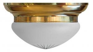 Plafond - Taklampe Frödingplafond 300, slipt frostet glass - arvestykke - gammeldags dekor - klassisk stil - retro - sekelskifte