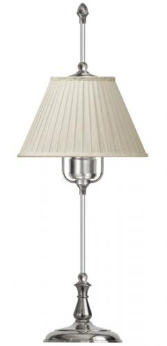 Table Lamp - Kellgren nickel, beige shade