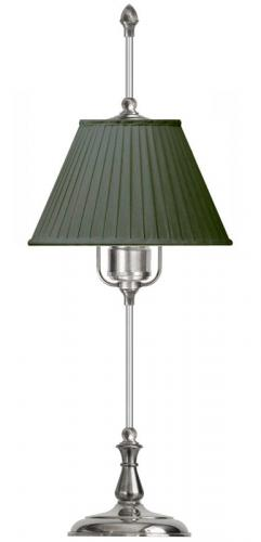 Table Lamp - Kellgren nickel, green shade