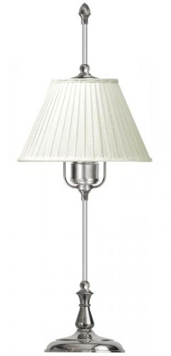 Table Lamp - Kellgren nickel, white shade
