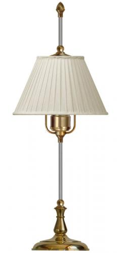 Table Lamp - Kellgren brass, beige shade