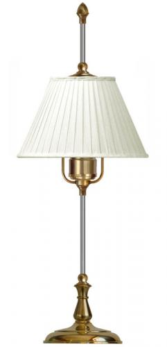 Table Lamp - Kellgren brass, white shade
