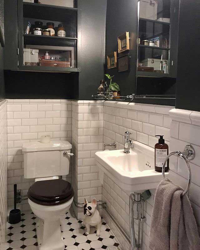 Tvättställ Burlington - Edwardian JR 51 cm - gammaldags inredning - klassisk stil - retro -sekelskifte