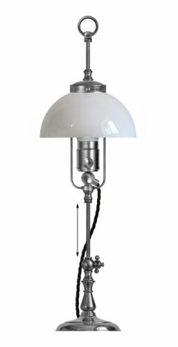 Table Lamp - Lenngren nickel-plated brass