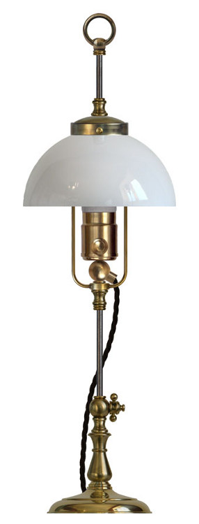 Table Lamp - Lenngren brass - old fashioned - old style