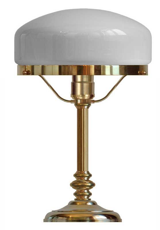 Table lamp - Karlfeldt brass, white shade