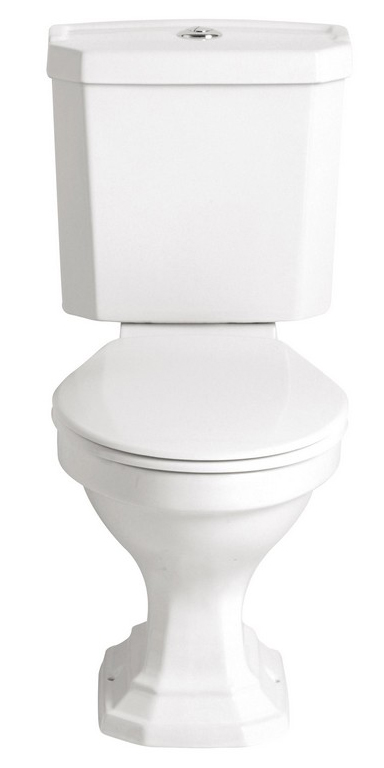 WC - Heritage Granley close coupled WC & seat