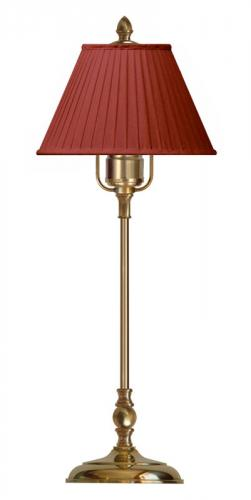 Table Lamp - Ankarcrona 52 cm brass, red shade