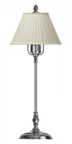 Table Lamp - Ankarcrona 52 cm nickel, beige shade