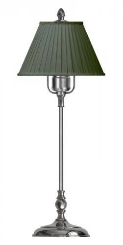 Table Lamp - Ankarcrona 52 cm nickel, green shade
