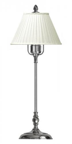 Table Lamp - Ankarcrona 52 cm nickel, white shade