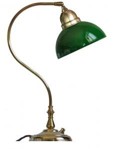 Table lamp - Lagerlöf with green glass