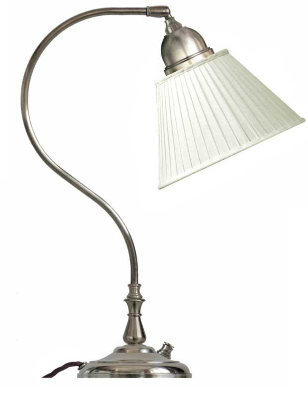 Table lamp - Lagerlöf with white pleated shade