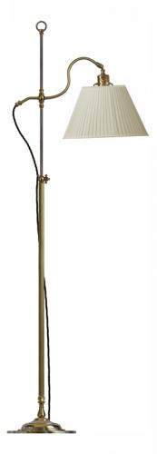 Floor Lamp - Gullberg beige shade - old style - vintage style - classic interior - old fashioned style