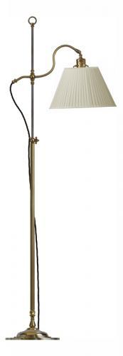 Golvlampa - Gullberg beige skärm - sekelskifte - gammaldags stil - klassisk inredning - retro