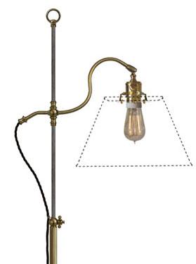 Floor Lamp - Gullberg - old fashioned style - oldschool - vintage