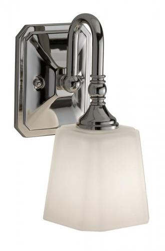 Bathroom lamp - Wall lamp Addislade chrome / glass - oldschool style - vintage interior - classic style - retro