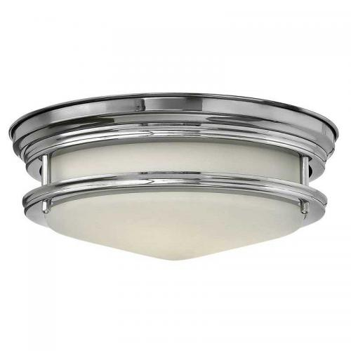 Bathroom Lamp - Ceiling lamp Teign plafond chrome / matte white