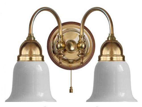 Wall lamp - Stackelberg opal white bell shade