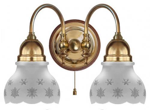Wall lamp - Stackelberg matte cut bell shade