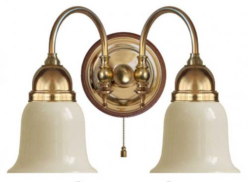 Wall lamp - Stackelberg off white bell shade