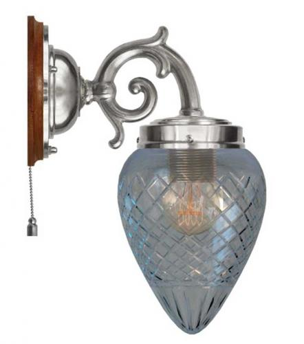 Wall lamp - Topelius clear glass
