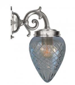 Vegglampe - Topelius forniklet klar dråpe - arvestykke - gammeldags dekor - klassisk stil - retro