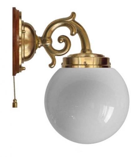 Wall lamp - Topelius opal white