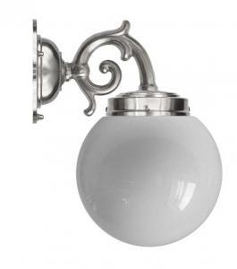 Vegglampe - Topelius forniklet globelampe - arvestykke - gammeldags dekor - klassisk stil - retro