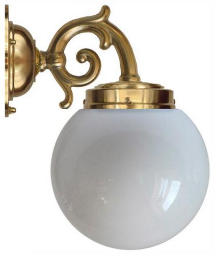Wall lamp - Topelius opal white