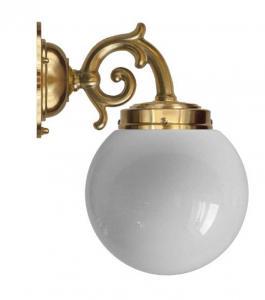 Vegglampe - Topelius globelampe - arvestykke - gammeldags dekor - klassisk stil - retro