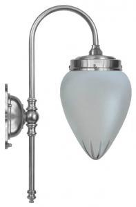 Wall lamp - Blomberg 80 drop matte white