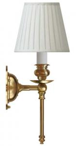 Wall lamp - Ribbing brass