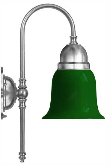 Wall lamp - Ahlström nickel green shade