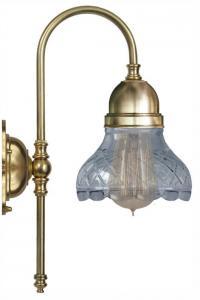 Wall lamp - Ahlström clear cut bell shade
