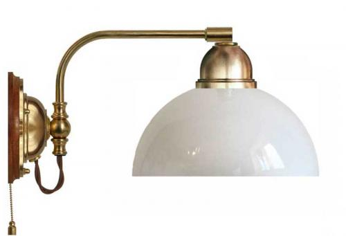 Wall lamp - Gripenberg 60 opal white shade