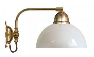 Wall lamp - Gripenberg 60 opal white shade