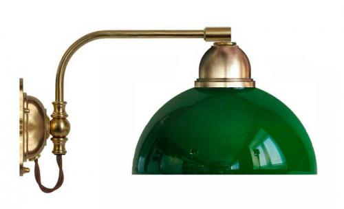 Wall lamp - Gripenberg 60 opal green clock shade