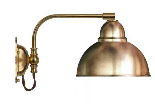 Wall lamp - Gripenberg 60 brass shade