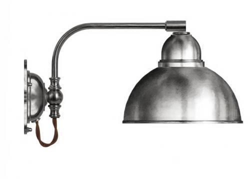 Vägglampa - Gripenberg förnicklad skärm