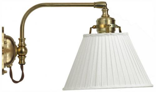 Wall lamp - Gripenberg 60 white textile shade