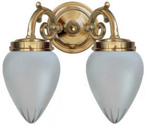 Wall lamp - Tegengren cut matte glass