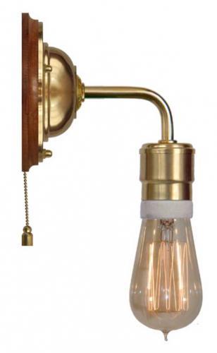 Wall lamp - Nylander brass