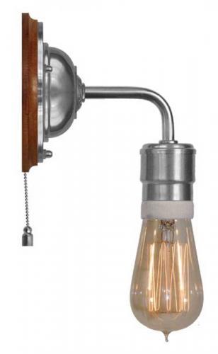 Wall lamp - Nylander nickel