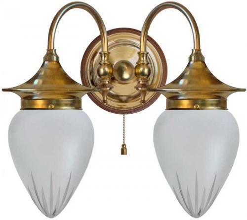 Wall lamp - Tigerstedt cut matte glass